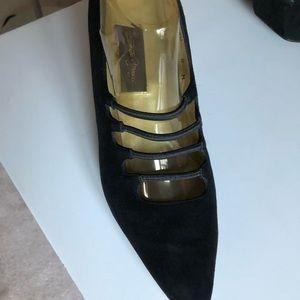 Sesto Meucci suede shoes. Sz 8, EUC. Made in Spain